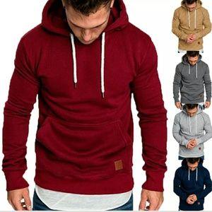 Jackets & Coats - Men's Slim Fit Hoodie Hooded